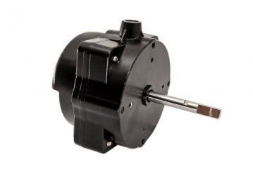 High efficiency brushless DC motor for domestic fans